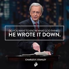 """The Bible is the most valuable resource for making decisions. Watch """"Making Wise Decisions"""" from Dr. Charles Stanley at intouch.org/watch."""