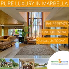 4 Bed Luxury Villa in a highly sought after complex on the Golden Mile close to Marbella Hill Club and Sierra Blanca.