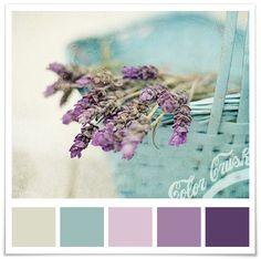 Pale blue purple