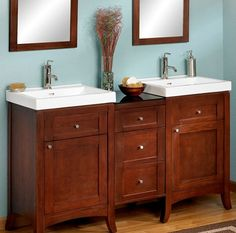 From The Preston Hardware Site This Vanity Is 57 And Would Fit Existing