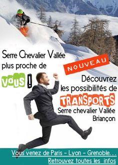 Station de ski dans les Hautes Alpes à Serre Chevalier Comment venir à #serrechevalier http://www.serre-chevalier.com/hiver/pratique/acces/bus/