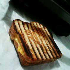 Cheesy Roast Beef Panini