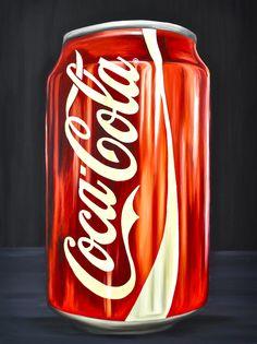 Kim Sears Coca Cola Painting