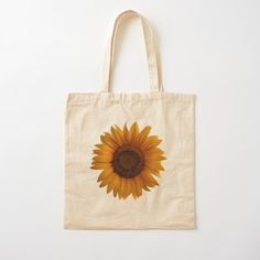 Sunflower Art, Sunflower Pattern, Blooming Sunflower, Yellow Sunflower, Printed Tote Bags, Cotton Tote Bags, Reusable Tote Bags, Chibi, Leopard Animal