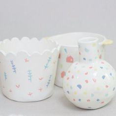 Petite famille #ceramics #ceramique  #illustration #montreuil #bagnolet