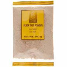 Buy Black Salt Powder online from Spices of India - The UK's leading Indian Grocer. Free delivery on Black Salt Powder (conditions apply). Indian Snacks, Indian Food Recipes, Mineral Salt, Chutney, Free Delivery, Powder, Spices, How To Apply, Foods