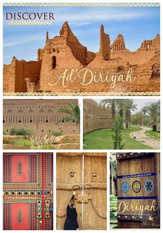 Discover Historical Ad Diriyah Riyadh Saudi Arabia  A UNESCO WORLD HERITAGE site Guide by Blue Abaya
