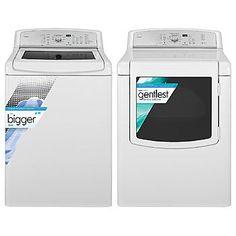 Kenmore-4.5 cu. ft. High-Efficiency Top-Load Washer & 7.6 cu. ft. Dryer Bundle | Sears $1319