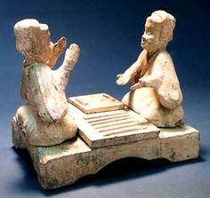 Le woshuo ou littéralement, la détention de pièce d'échecs était un jeu étranger qui est passé dans les régions de l'Ouest, sous le règne de l'empereur Xuanwu, dans l'État de la dynastie des Wei du Nord. Le jeu est similaire au Liubo, Shuanglu et Changxing. Le shuo se réfère à une pièce d'échecs ou un échiquier, et en jouant le jeu, un dé est jeté pour décider qui doit déplacer la pièce.
