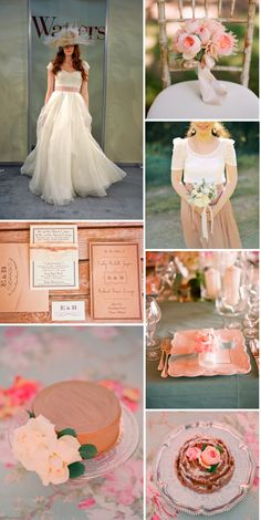 A romantic garden party for the Watters Brides Napa Gown. Found on Weddingbee.com Share your inspiration today!