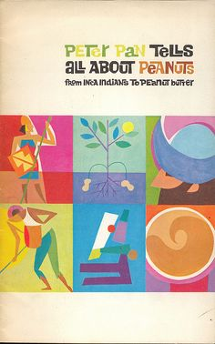 Peter Pan Peanut Butter booklet: cover (1963) (no artist credit)