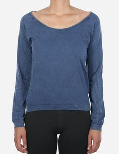 iriedaily - Vintage Fair LS navy wash