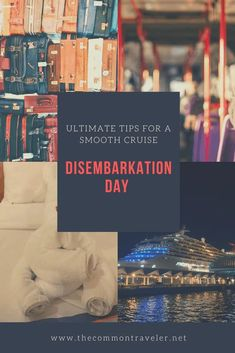 Top 11 Tips for a Smooth Disembarkation Day Best Cruise, Cruise Tips, Cruise Travel, Cruise Vacation, Travel Advice, Travel Guides, Travel Tips, Travel Hacks, Cruise Pictures