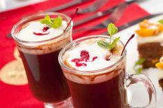 Gorąca czekolada z miętą i wiśniami. #czekolada #deser #pyszności #dzieńkobiet #smacznastrona #tesco #przepisy #przepis