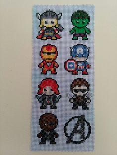 Little Avengers 7 character superhero inspired by monkeywishes
