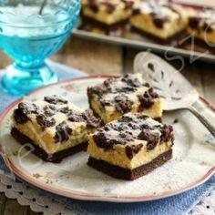 Pillekönnyű grízes túrós kevert süti Cake Cookies, Dory, French Toast, Muffin, Dinner Recipes, Sweets, Baking, Breakfast, Vaj