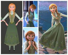 Anna's End of Movie Dress