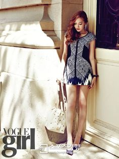 Girls Generation's Jessica for Vogue Girl