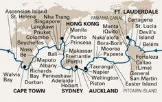 World Cruise on Holland America Lines