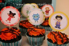 Daniel Tiger Cupcakes from Loving Mountain Life