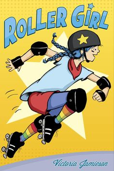 Roller Girl is about a 12-year-old girl named Astrid who is introduced to roller derby and immediately falls in love with it: the crazy names, the spectacular outfits, and the fierce women on wheels. But it's also about her changing relationship with her best friend Nicole, who prefers ballet slippers to roller skates. The story does a good job of integrating these–playing roller derby helps Astrid to think about who she is and who she wants to be. I'm not sure which is harder, playing…