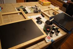 Chalkboard  TV Trays  *great for game nights & busy little hands