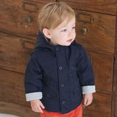 Baby Coat with Hood | Dave Bella Kids Clothes