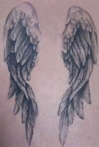 angel wing watercolor back tattoos - Yahoo Image Search Results