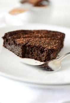 Super Fudgy Gluten Free Chocolate Cake