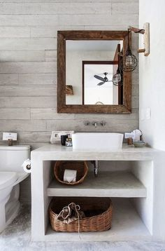 Small bathroom decor 2019 Small modern bathroom with built-in furniture. Furniture for small bathrooms. Bathroom Photos, Bathroom Layout, Bathroom Interior Design, Home Interior, Bathroom Storage, Bathroom Ideas, Bathroom Makeovers, Interior Mirrors, Bathroom Repair