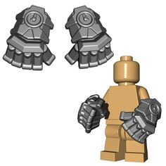 Are your LEGO® minifigures concerned about hurting their little hands while punching their enemies? If so, we have the solution...a custom LEGO® weapon that also makes them stronger! With the powerfis