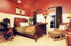 Image detail for -Luxury-african-ethno-style-bedroom-with-wood-furniture-set