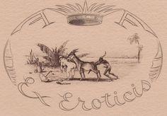 Ex libris by Jean Morisot