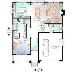 Guest House on 3 bed 1 2 bath floor plans