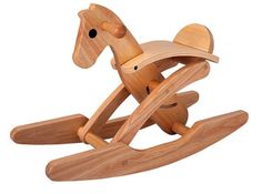 Bought this for our little guy already :) Tori Rocking Horse by Plan Toys