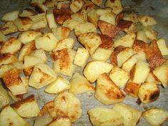 La cucina di Lilla (adessosimangia.blogspot.it): Contorni: Patate croccanti al forno