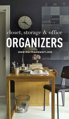 Closet, Storage & Office Organizers | Martha Stewart Living