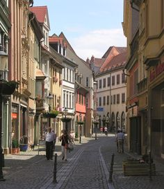 Wiesbaden, Germany. Lovely place, lovely people.
