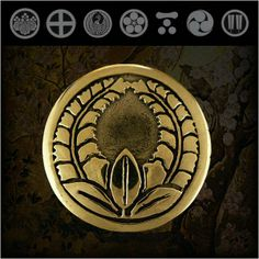 Samurai/Family/Japanese/Crest/Brass/Concho/WILDHEARTS http://item.rakuten.co.jp/auc-wildhearts/cc2216/
