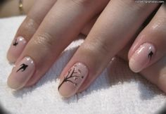 nude with bird and tree accents