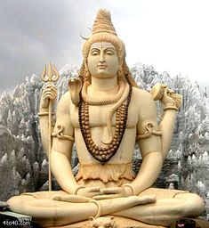 This is a photo of the statue of Shiva meditating located in Bangalore. Shiva--known as the God of Destruction and the original Lord of the Dance- Shiva Wallpaper, Photo Wallpaper, Hd Wallpaper, Lord Shiva, Mahakal Shiva, Shiva Statue, Angkor, Into The West, Hindu Deities