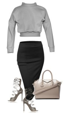 """""""untitled#70"""" by hebashk ❤ liked on Polyvore featuring Doublju, Givenchy, Maticevski and Gianvito Rossi"""