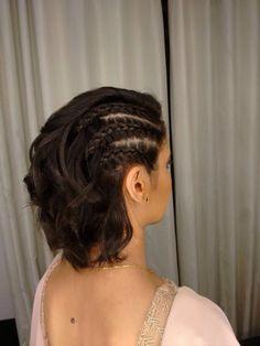 25 Modern Side Braid Hairstyles for Women – InspireandIdeas Braids For Short Hair, Cute Hairstyles For Short Hair, Curly Hair Styles, Natural Hair Styles, Coachella Hair, Viking Hair, Side Braid Hairstyles, Braid Styles, Hair Makeup