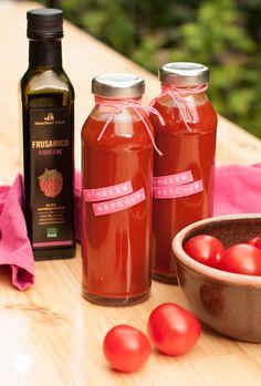 Fruchtigen Himbeerketchup selbstgemacht   Rezept von #feiertäglich