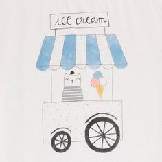 Emile et Ida Ice Cream Cart T-Shirt-product