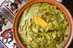 Lemon Chipotle Guacamole -(for Low Carb sub sugar) use with low carb tortilla chips, or add it to fish, chicken, meat, or anything else that sounds delicious!   / Cooking On The Weekends