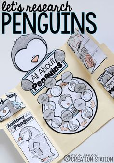 Penguin Science Lapbook - Mrs. Jones' Creation Station