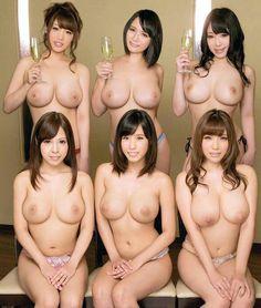Tette belle signore asiatiche in topless