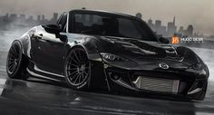 New 2016 Mazda MX-5 Gets a Badass Tuning Render