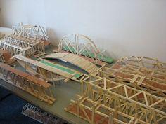 popsicle stick bridges